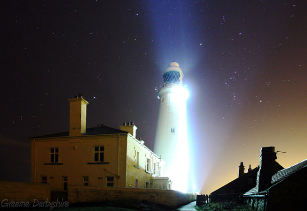 Lighthouse by Graeme Darbyshire Flickr Creative Commons