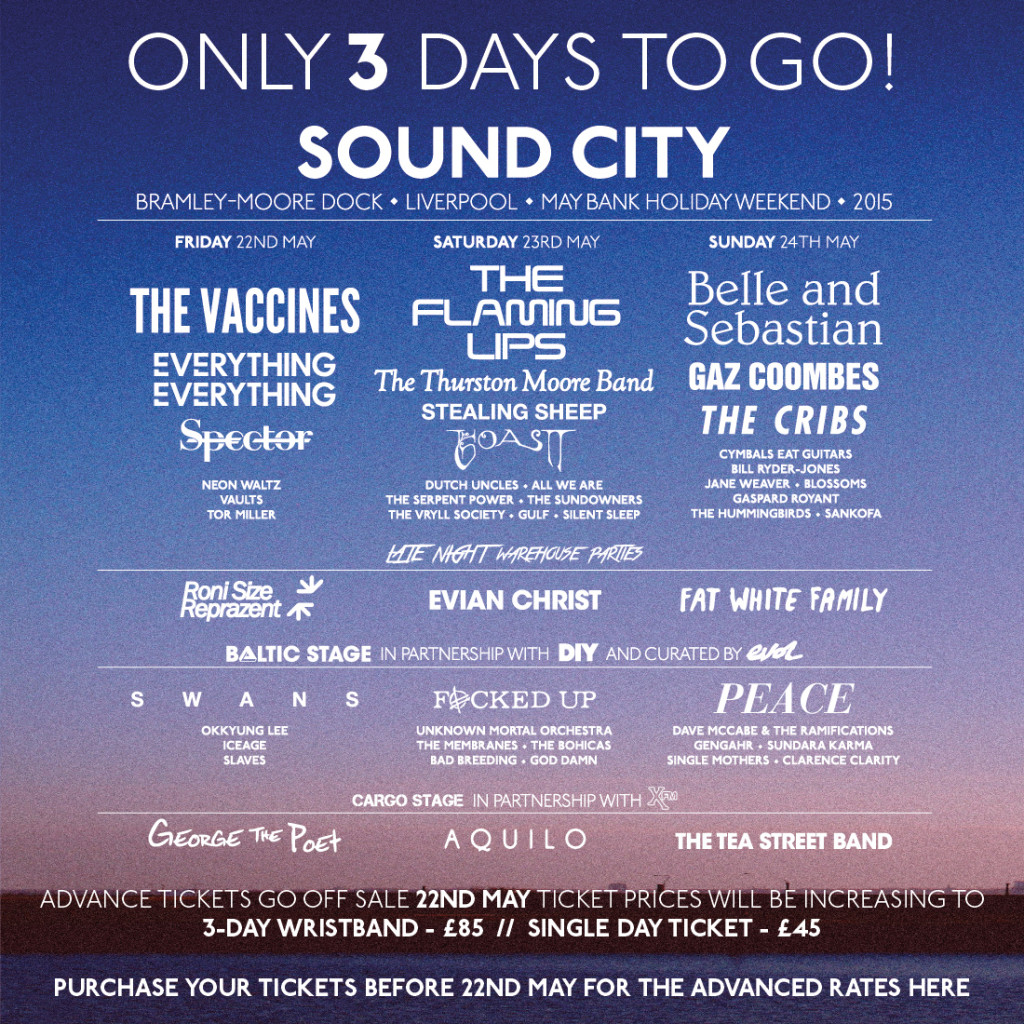 Liverpool Sound City promo