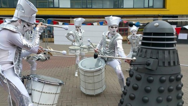 Spark! and Daleks Maker Faire 2015 by Worldbeaters Music LLP