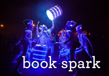 book spark! for your festival or event